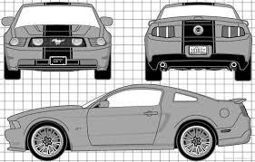 2010 Black Mustang The Blueprints Com Blueprints U003e Cars U003e Ford U003e Ford Mustang Gt