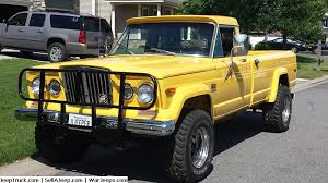 jeep truck parts jeep trucks for sale and jeep truck parts 1975 mellow yellow j20