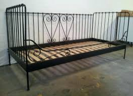 Iron Single Bed Frame Ikea Black Iron Bed Popular Of Bed Metal Metal Bed Frame