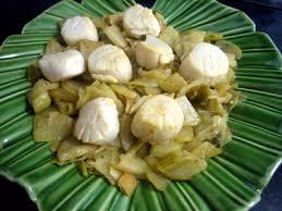comment cuisiner des chayottes noix de jacques aux chayottes recette coquillages et