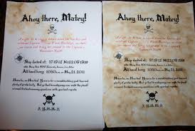 celebrate rolled treasure map pirate party invitation the