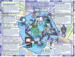 Disney Epcot Map Epcot Innoventions Guidemaps