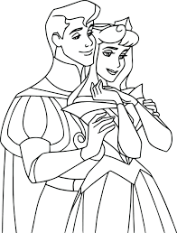 aurora coloring pages free printable online and philip princess