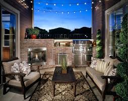 brick outdoor fireplace patio traditional with attached home award