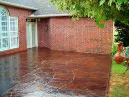 stained concrete patio pictures tips to staining concrete patio