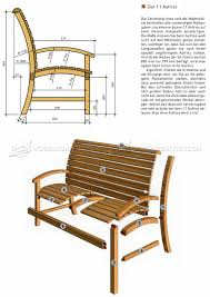 garden seat plans u2022 woodarchivist