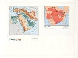 Elevation Map Of The United States by The Geography Of The Middle East Geoff Emberling
