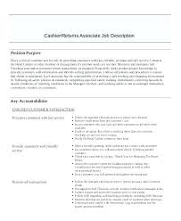 description of job duties for cashier resume for cashier resume cashier duties cashier duties and