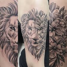 image result for lion flower tattoo tattoos pinterest tattoo