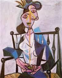 Dora Maar In An Armchair Untitled Portrait Of A Woman 1945 Salvador Dali Wikiart Org