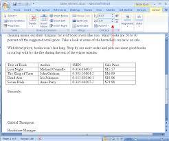 table tools design tab word 2007 modifying tables