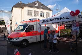Drk Bad Kreuznach Bürgermeister Dr Egbert Adam Zu Flüchtlingsunterkunften In Serrig