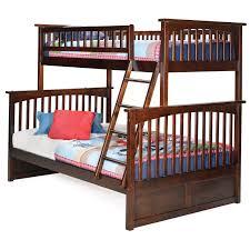 Twin Bed Atlantic Furniture Columbia Twin Over Full Bunk Bed Hayneedle
