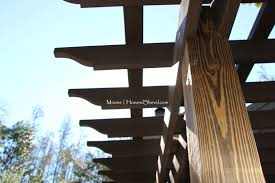 Pergola Rafter Tails by Hoe And Shovel Structure In The Garden Pergola Dreams