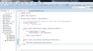 pattern java file java singleton design pattern