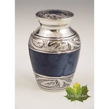 small urn small urn for ashes mystic blue keepsake