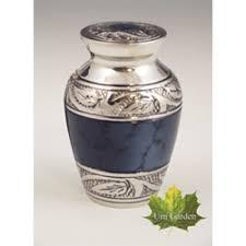 small keepsake urns small urn for ashes mystic blue keepsake