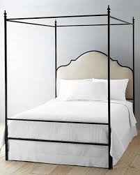 Pottery Barn Iron Bed Black Iron Bed