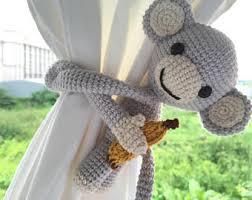 Curtain Tie Backs For Nursery Nursery Curtain Ties Etsy