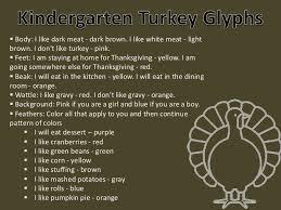 stm 2011 12 kindergarten turkey glyphs