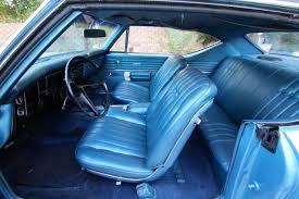 1969 Chevelle Interior All Interior Codes