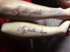 brother sister tattoo brother sister tattoo pinterest tattoo