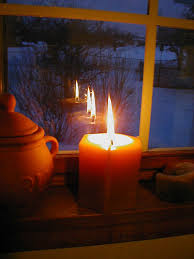 candle in the window source of inspiration