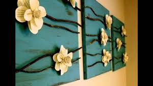 Homemade Room Decor by Creative Wall Decor Ideas Diy Youtube