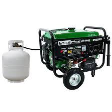 duromax 4 850 watt dual fuel propane gas powered electric start