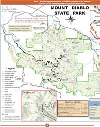 Mt Diablo State Park Map by Our Work Prestige Printing U0026 Graphics