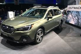 subaru outback sport subaru u0027s 2018 outback continues its one wagon fight against suvs