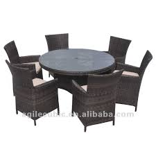 Circle Patio Furniture by Round Outdoor Patio Table Home Design Ideas And Pictures