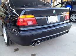 5 series m5 polypropylene or abs bumper rear