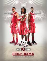 2014 15 men u0027s basketball media guide by alabama crimson tide issuu