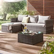 Esszimmerst Le Aus Rattan Garten Rattan Lounge Mobeln Design