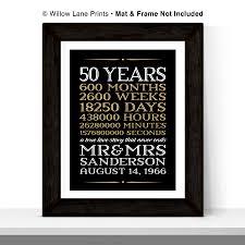50 year anniversary gift wedding gift 1st year wedding anniversary gift ideas for him