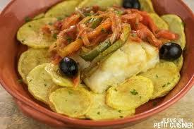 cuisiner la morue à la portugaise recette land recette de morue à la mode de braga bacalhau à