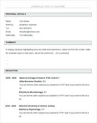 free basic resume outline here are basic resume template goodfellowafb us