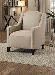 Beige Accent Chair Homelegance Semplice Accent Chair Beige 1279f3s