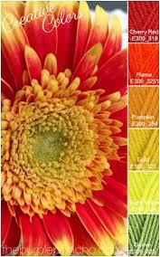 Fall Color Palette by Creative Colors U2013 Gerber Daisy U2013 Fall Palette U2013 The Purple Poncho