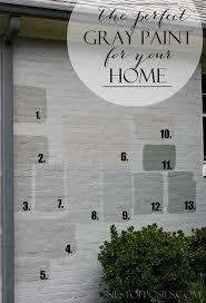 best 25 painted brick exteriors ideas on pinterest painted
