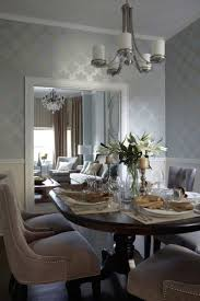 Blue And Grey Living Room Ideas by Best 25 Dining Room Wallpaper Ideas On Pinterest Room Wallpaper