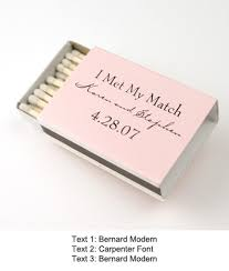 wedding matches classic wedding matches personalized matches personalized