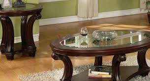 table thrilling coffee table and end table set round dazzling