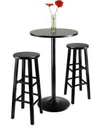 Black Bar Table 6 Contemporary Black Pub Table Sets Furniture