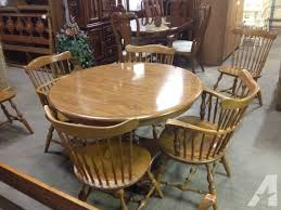 ethan allen dining room tables ethan allen maple dining table chairs for sale in minocqua