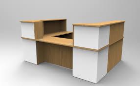 Corner Reception Desk by The