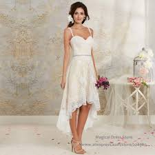 short ivory wedding dresses for elegant minimalistic