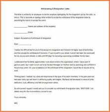 9 resignation letter examples with reasons resign letter job