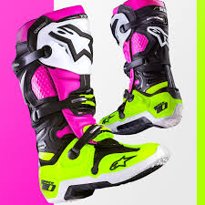tech 10 motocross boots alpinestars introducing limited edition radiant tech 10 boot